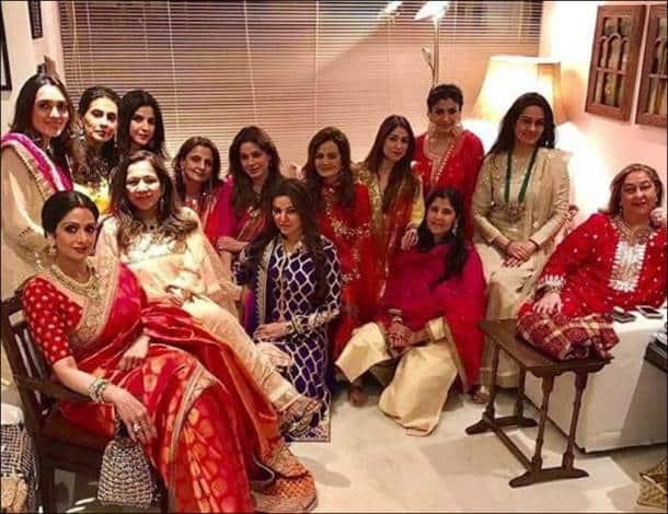 Neetu Singh, Bhavna Pandey, Raveena Tandon, Dipti Sandesara, Padmini Kolhapure