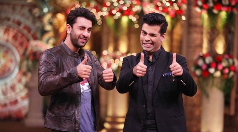Image result for karan Johar and Ranbir Kapoor