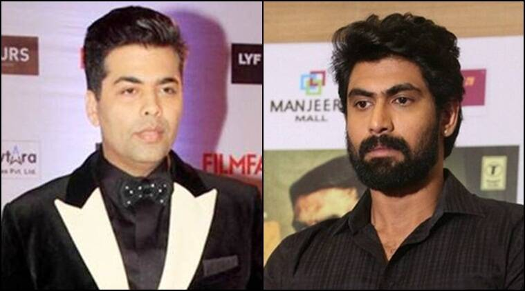 Rana daggubati, rana baahubali, rana ghazi, karan johar, karan johar rana, karan johar rana daggubati, karan johar ghazi, rana daggubati ghazi, taapsee pannu ghazi, tollywood news, entertainment news