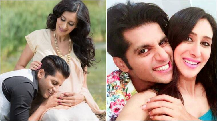 karanvir bohra, karanvir bohra teejay sidhu, karanvir bohra father, karanvir bohra teejay sindhu parents, karanvir bohra twin daughters, karanvir teejay daughters, karanvir bohra teejay delivery, karanvir becomes father, karanvir bohra teejay television couple, karanvir teejay love story, karanvir teejay child, teejay delivers, karanvir bohra news, naagin 2 news, arjun bijlani naagin, karanvir bohra naagin 2, karanvir bohra rocky, television news, indian express, indian express news