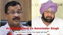 Twitterati gets in on the Arvind Kerjiwal vs Amarinder Singh face-off on Twitter