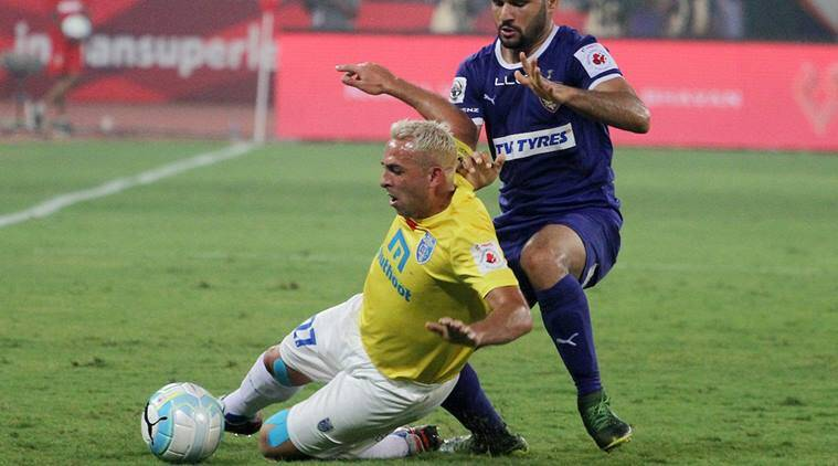 indian super league 2016, isl, chennaiyin fc, kerala blasters, chennaiyin kerala blasters, isl results, isl match score, indian super league 2016, chennaiyin fc kerala blasters score, isl table, football news, sports news