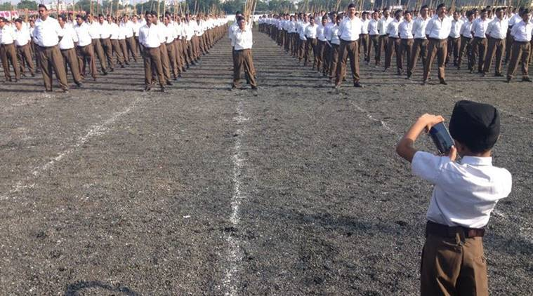 rss uniform, rss khaki pants, rss mohan bhagwat, rss today, mohan bhagwat speech, rss, rss foundation day, rss day, india news
