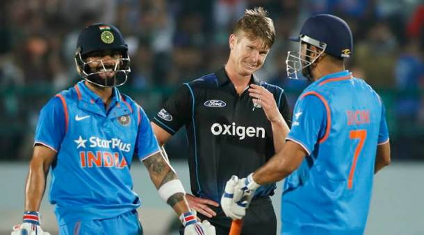 India vs New Zealand, ind vs nz, ind vs nz odi, ind vs nz 1st odi , ind vs nz 1st odi photos, India vs New Zealand photos, Virat kohli, Kohli, Dhoni, MS Dhoni, Kedar Jadhav, Jadhav, Southee, Latham, Cricket photos, India cricket photos, cricket news, cricket