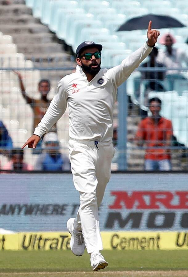 Virat Kohli, Kohli, Test captain, India vs New Zealand, Ind vs nz, ind vs nz 2nd test, ind vs nz Kolkata test, ind vs nz day 2, ind vs nz highlights, ind vs nz photos, India vs New Zealand photos, India cricket, New Zealand cricket team, India vs nz score, ind vs nz highlights, Cricket news, Cricket