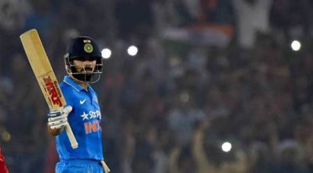 india vs new zealand, ind vs nz, india vs new zealand 3r odi, mohali, virat kohli, kohli, kohli mohali, jimmy neesham, cricket news, sports news
