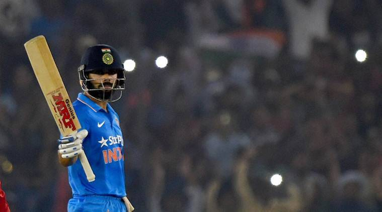 india vs new zealand, ind vs nz, india vs new zealand 3r odi, mohali, virat kohli, kohli, kohli mohali, jimmy neesham, cricket news, sports news