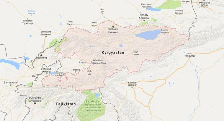 Kyrgyzstan  militants killed, Kyrgyzstan , GKNB Kyrgyzstan, World News, Indian Express News