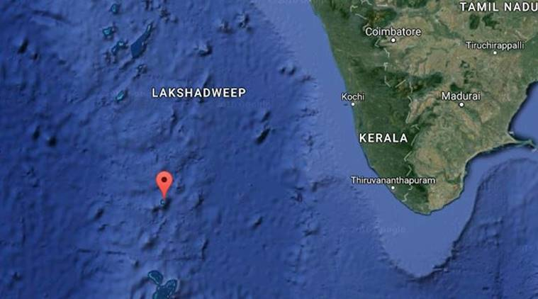 earthquake, lakshadweep quake, lakshadweep earthquake, Ministry of Earth Sciences, news, latest news, India news, lakshadweep, lakshadweep news, national