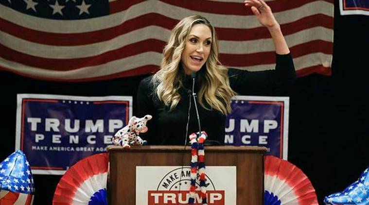 Donald Trump, Trump, trump daughter in law diwali, trump celebrates diwali, trump adult film star controversy, adult film star controversy, Jessica Drake, inappropriate sexual conduct, sexual misconduct, sexual harassment, World news, Indian express news