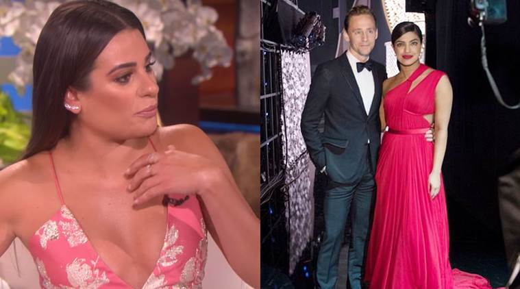 Lea Michele, Tom Hiddleston, Priyanka Chopra