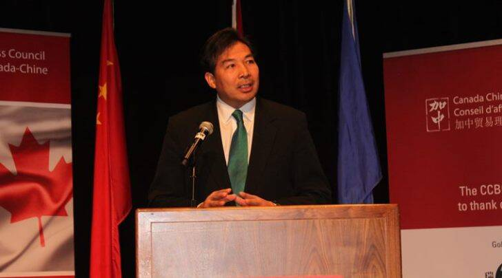 Luo Zhaohui, China's new ambassador to India (Image source: Chinese embassy in Canada)