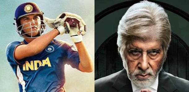 MS Dhoni: The Untold Story, MS Dhoni Biopic, MS Dhoni Biopic, MS Dhoni vs Pink, MS Dhoni Pink BO, Sushant Singh Rajput vs Amitabh Bachchan, Amitabh Bachchan, Sushant Singh Rajput, indian express, indian express news, entertainment news