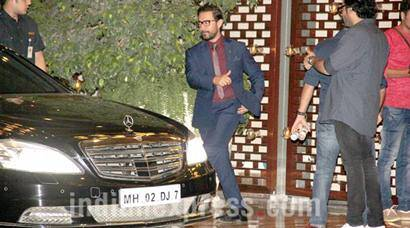 Aamir Khan, Dia Mirza and others spotted at Mukesh Ambani's party