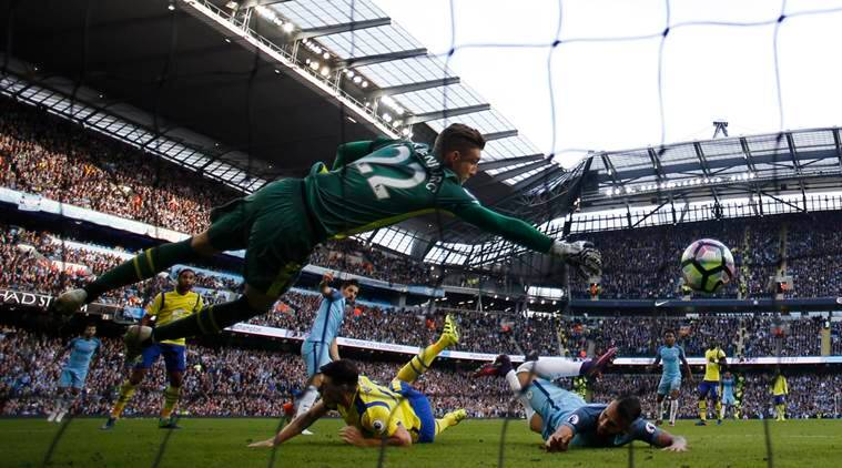 Manchester City, Manchester City everton, Pep Guardiola, Manchester City Everton result, Manchester City vs Everton, Maarten Stekelenburg, Kevin De Bruyne, Sergio Aguero, Football, football news, sports, sports news