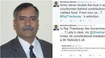 Former Air Vice Marshal slams Raj Thackeray's 5 Cr 'penalty' in a series of powerful tweets