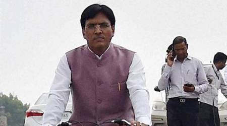 mansukh mandaviya, minister of state for shipping, union minister mansukh mandaviya, mansukh mandaviya union minister, indian sailors, india sailors in nigeria, indian sailors rescued, india news, Indian Express