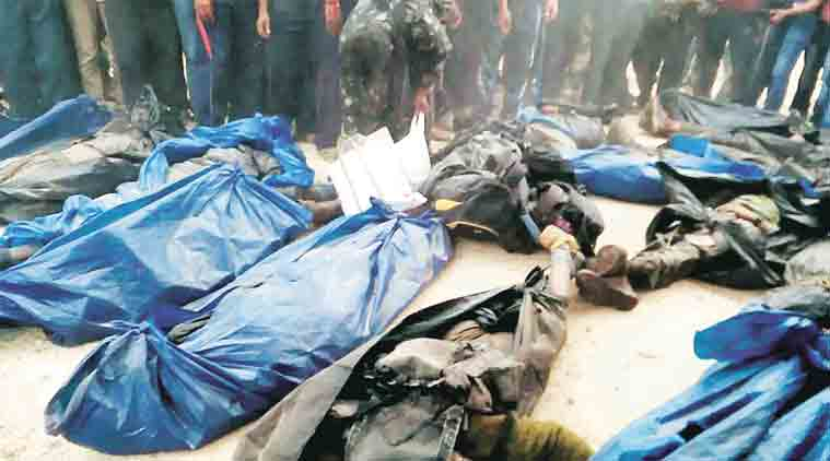 Maoists, maoist death encounter, maoist encounter, maoist encounter Odisha border, maoist encounter andhra border, india news, indian express