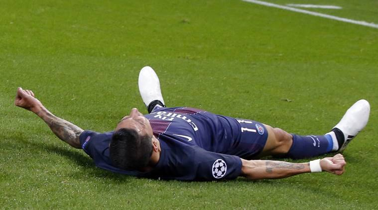 angel di maria, di maria, psg, paris st germain, french league, french football league, football news, football