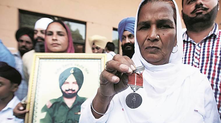 punjab, punjab martyrs, punjab war widows, punjab war widow compensation, punjab govt war compensation, punjab news