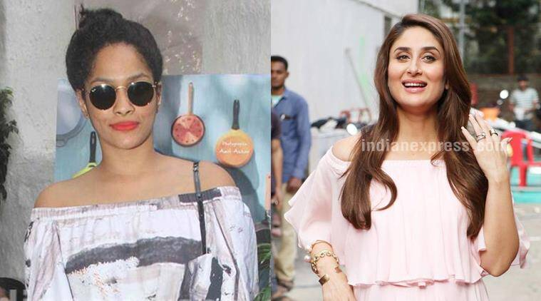 Masaba Gupta (L) thinks Kareena Kapoor is inherently cool.