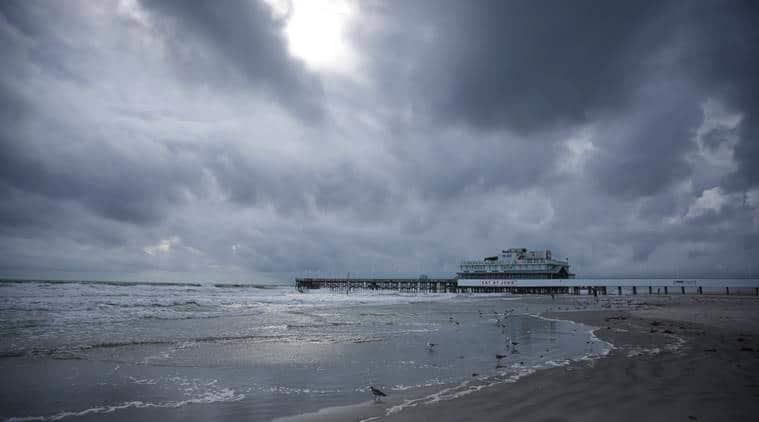 Panama City Beach, human chain, Florida, United States, World news, Indian Express news