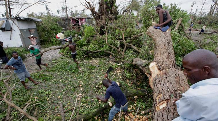 Hurricane Matthew, Matthew, Death toll, death toll rise, hurricane deaths, hurricane matthew deaths, Haiti, Florida, US hurricane, US hurricane matthew, obama, barack obama, emergency, hurricane destruction, hurricane matthew destruction, world news, indian express, latest news