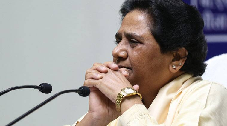 Mayawati, Mayawati demonetisation, Mayawati demonetisation survey Modi, Narendra modi, Narendra modi app survey, Demonetisation app survey, Mayawati Pm modi, Fake survey, Mayawati news, demonetisation news, india news, indian express news