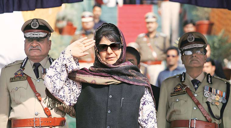 Mehbooba Mufti, Jammu and Kashmir police, J&K police parenting, Pak ceasefire violations, India-Pak relations, India news, latest news, Indian express