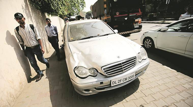 Mercedes hit-and-run, delhi Mercedes hit-and-run, delhi hit run case, delhi court, delhi police, bail, juvenile hit run case, civil line accident, accident, delhi accident, indian express news, delhi, delhi news