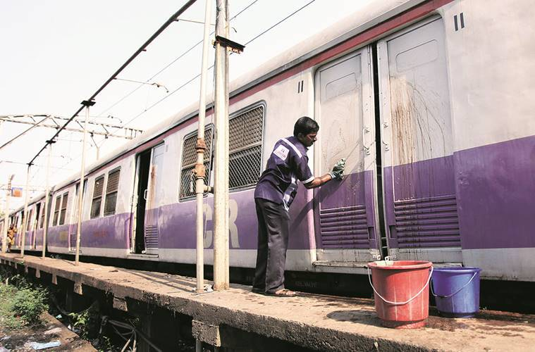 life on the local, local trains, mumbai locals, mumbai local trains, mumbai local trains maintenance, india news, indian express,