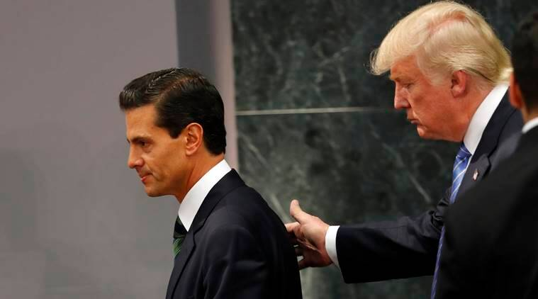 Trump mexico, donald trump, Enrique Pena Nieto, Nieto trump, US mexico, Hillary Clinton, news, latest news, world news, international news, Mexico news, US presidential elections, US news