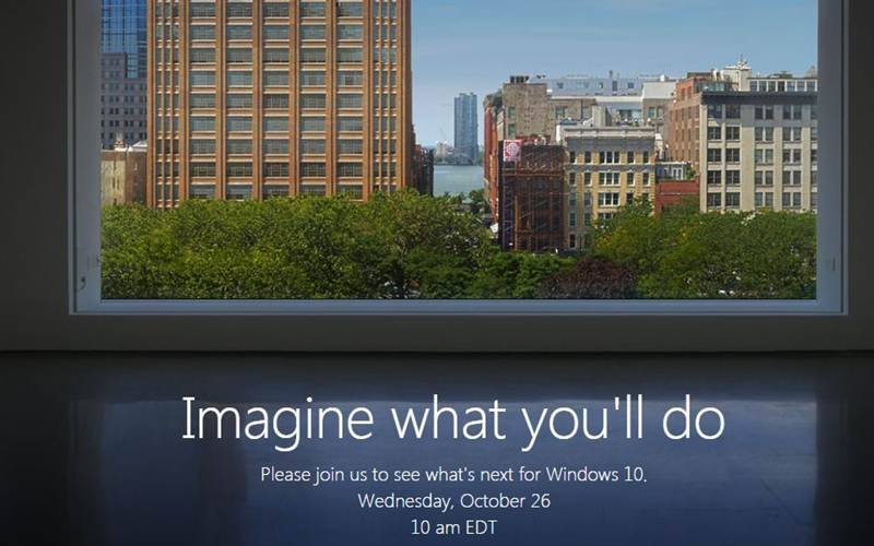 microsoft, microsoft event, microsoft surface event, microsoft windows 10 event, microsoft windows 10 event october 26, microsoft event, tech news, technology