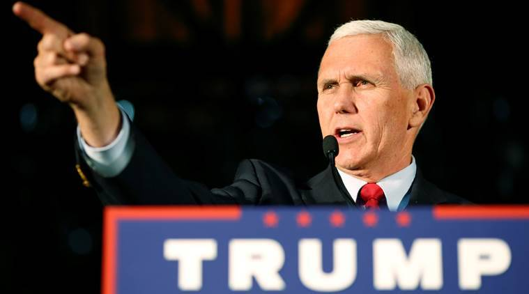 donald trump mike pence, mike pence, donald trump comments, donald trump election outcome, us elections 2016, us elections, world news, indian express,