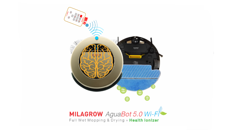 Milagrow, Aquabot 5.0, aguabot 5.0 launch, Aquabot 5.0 features, Aquabot 5.0 specs, Aquabot 5.0 auto functions, floor vacuuming robot, robovac india, Aquabot 5.0 availability, Aquabot 5.0 india price, Aquabot 5.0 functions, cleaning, cleaning gadgets, technology, technology news, indian express