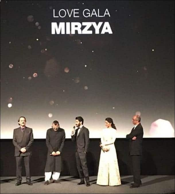Harshvardhan Kapoor, Saiyami Kher, London Film Festival, Mirzya premiere, Mirzya cast, rakeysh omprakash mehra