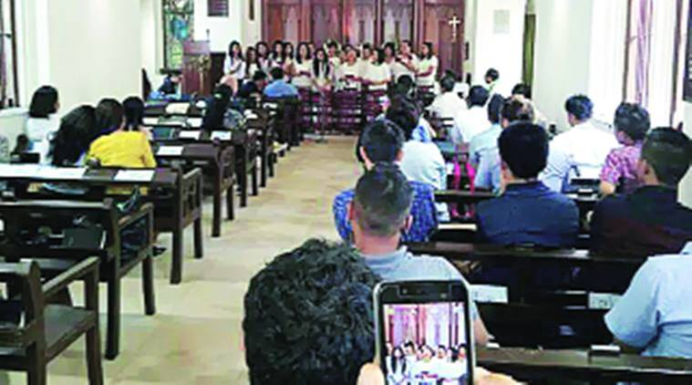 Mizoram community, Mizoram community mumbai, church, mumbai church, prayers, Mumbai mizo association, Mumbai news, India news, Indian express news