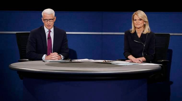 Debate Moderators, Anderson Cooper, Martha Raddatz, debate, debate live, presidential debate, US presidential Debate, hillary clinton, Donald Trump, Bill Clinton, Bill clinton sex scandal, clinton sex scandal, former president clinton, clinton sexual assault, trump attacks clinton, trump lewd comments, trump video, us presidential elections, us presidential debate, world news, latest news, latest world news