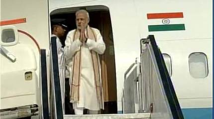 PM Modi inaugurates terminal building of Vadodara airport, says better connectivity means more tourists