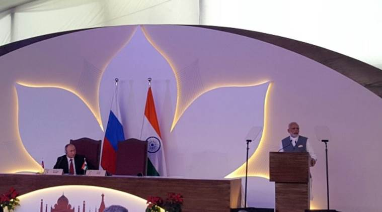 narendra modi, india russia pact, india russia agreement, modi russia agreement, modi russia deal, india russia deals, vladimir putin modi meeting, india news