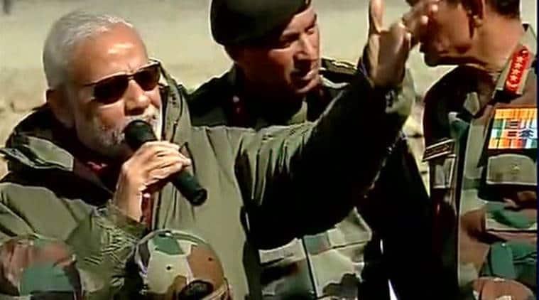 diwali, modi diwali, army