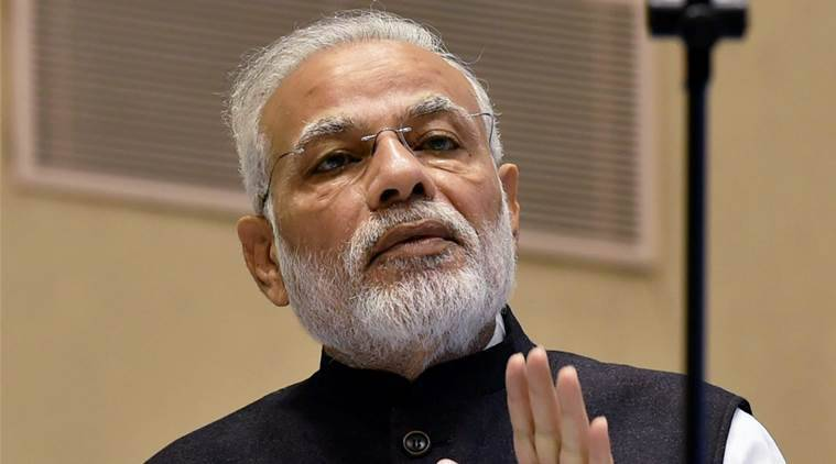 """New Delhi:Prime Minister Narendra Modi addresses the concluding session of """"Global Conference on National Initiative towards Strengthening Arbitration and Enforcement in India"""" in New Delhi on Sunday. PTI Photo by Atul Yadav (PTI10_23_2016_000068A)"""