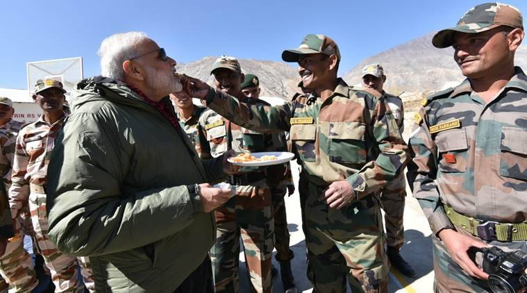 Image result for modi facepalm and soldier