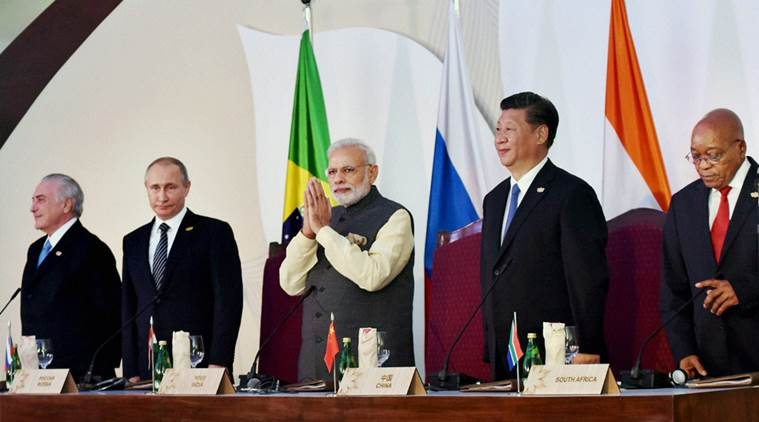 Modi, Narendra Modi, PM Modi, BRICS, BRICS summit, Modi BRICS, BRICS modi, BRICS summit 2016, PM Modi speech, PM Modi at BRICS summit, India, Modi government, India economy, economy, BRICS business council, GDP, india news, indian express news