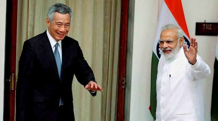 Singapore, India, singapore India tax treaty,  Narendra Modi, Lee Hsien Loong, Singapore india, latest news, latest india news