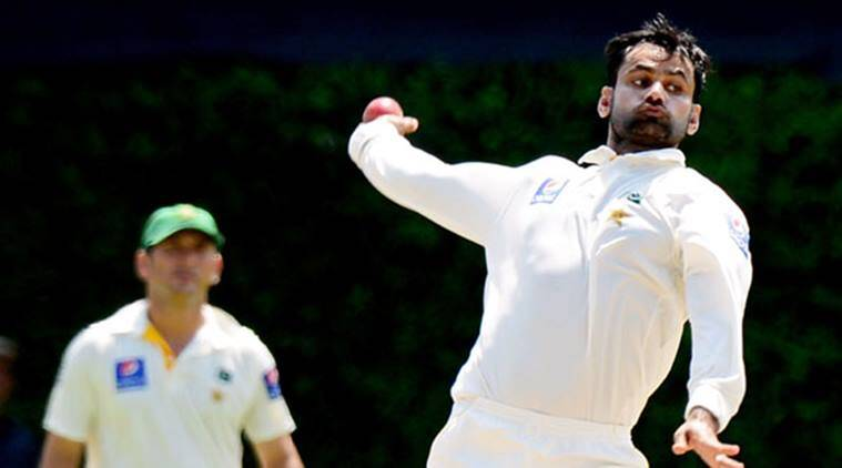 mohammad hafeez, mohammad hafeez bowling action, hafeez bowling action illegal, pakistan vs sri lanka, cricket news, sports news, indian express