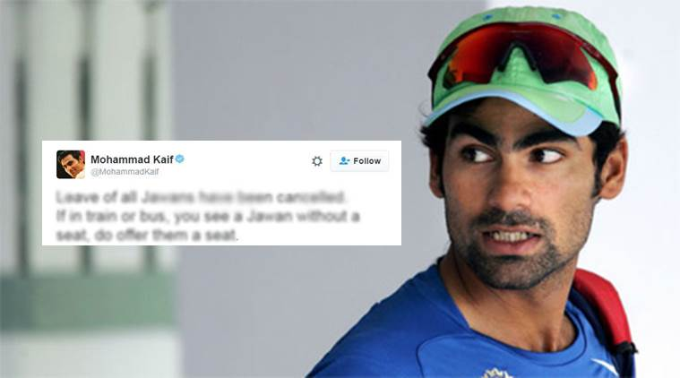 Mohammad Kaif won the Internet with this tweet