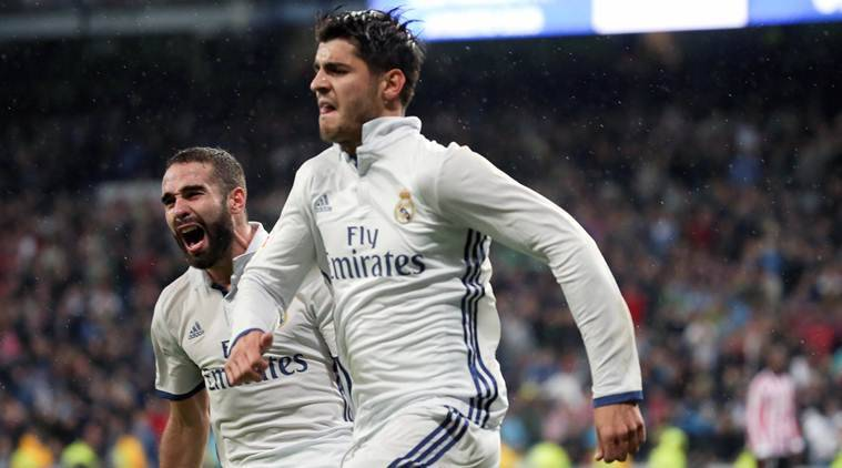 real madrid, real madrid la liga, morata, alvaro morata, cristiano ronaldo, ronaldo, la liga table, la liga scores, football news, sports news