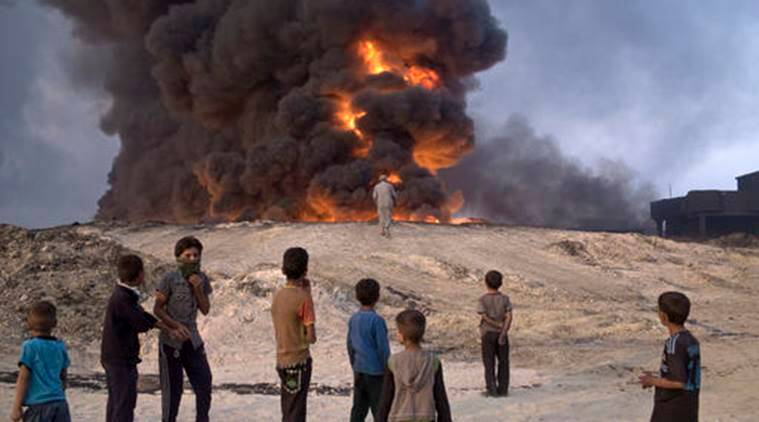Iraq Mosul, Mosul assault, Iraq forces, kirkuk, booby-traps, sniper fire, suicide car bombs, Kurdish forces, news, latest news, world news, international news