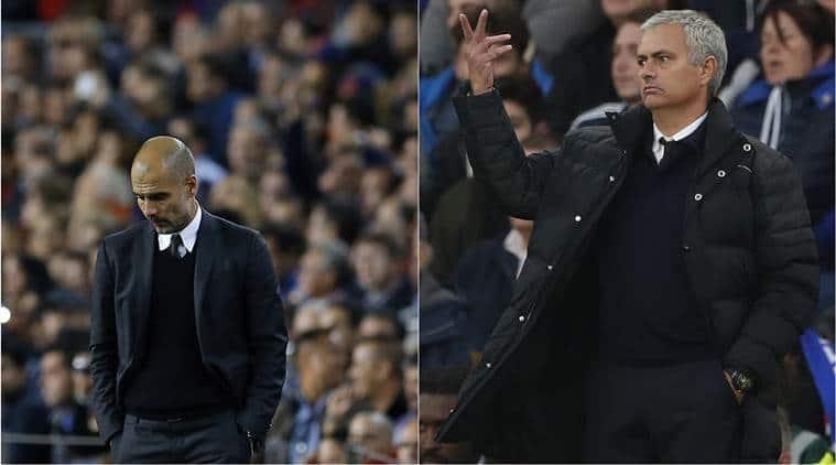 chelsea vs manchester united, jose mourinho, barcelona vs manchester city, pep guardiola, champions league, premier league, football news, sports news